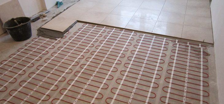 Конструкции электрического теплого пола